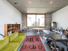 We explore the work of Berlin duo Gonzalez Haase who capture contemporary design magic that's bound to evoke feelings of appreciation for architecture. Atelier Architecture, Jorge Gonzalez, Berlin Apartment, Apartment Interior, Modern Furniture, Furniture Design, Timber Ceiling, Piece A Vivre, Color Tile