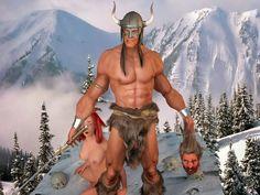 conan barbarian 3d
