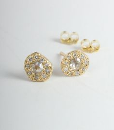 New at Catbird, Ancienne Earrings! Exclusively available at www.catbirdnyc.com.