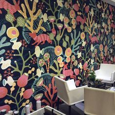ECO WALLPAPER releases a unique line of wallpapers in collaboration with Spanish Designer Jaime HAYON * Wonderwall * The Inner Interiorista