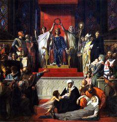 Alexandre Cabanel - Glorification de Saint-Louis