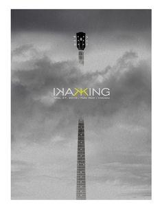Kaki King - Design / Fred Debruycker