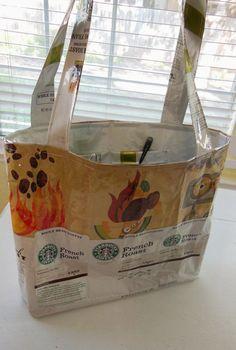 Garnish, Deanna, Garnish!: Upcycled Starbucks Bag