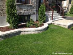 Trois Rivieres, Exterior Stairs, Saint Louis, Pathways, Curb Appeal, Sidewalk, Facade, Backyard, Construction