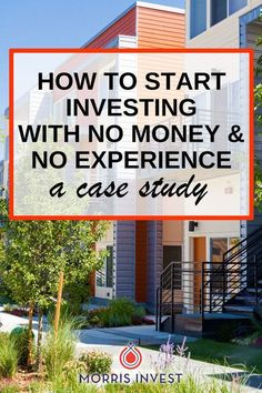Interesting case study....Getting started in real estate investing even if you don't have any money or experience. Real estate podcast.