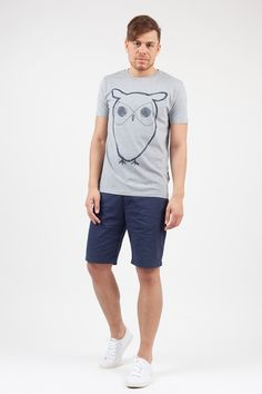 Owl print by KnowledgeCotton Apparel, available at loveco-shop.de