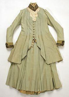 Young woman's dress, Thurn, ca. 1883; MMA C.I.62.23.2a, b