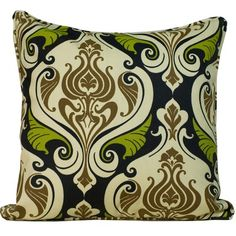 Jiti Pillows Endurance Outdoor Square Decorative Pillow - 2020/OUT/P/P-END-GRN