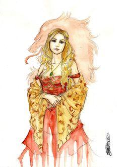 Cersei Lannister by GabrielJardim.deviantart.com on @deviantART