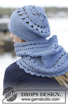 Ravelry: 166-21 Winter Flower Beret pattern by DROPS design