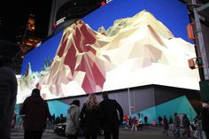 Times Square 4K Screen Launch | Featured Work | Second Story
