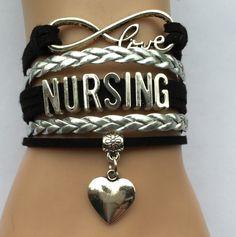 I Love Nursing Bracelet