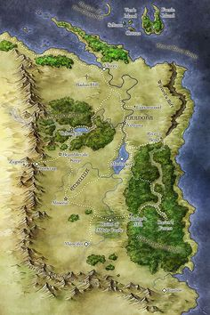 The Witcher 3 World Map in 2018 | The Witcher III: Wild Hunt\' Fine ...