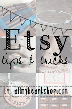 Etsy Tips & Tricks-8 Things To Know Before Selling On Etsy
