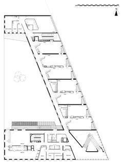 "Primary School & Nursery in the ""Claude Bernard"" ZAC,Plan"