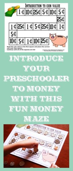 Creative Homeschool: Indroduction to Coin Value - Free Printable