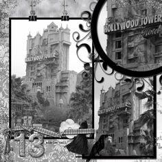 Tower of Terror - MouseScrappers.com  right side