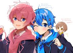 Anime Chibi, Kawaii Anime, Anime Art, Super Hero Life, Anime Boy Zeichnung, Anime Poses Reference, Anime Profile, Vocaloid, Cute Boys