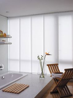 best 25 vertical blinds cover ideas on pinterest. Black Bedroom Furniture Sets. Home Design Ideas