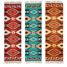 "Amazon.com - Beautiful Ultra Soft Throw Blanket, Native American & Southwest Styles. High Quality Reversible Acrylic Throw Measures 50"" X 64"" (Anasazi Sandstone 3A) -"