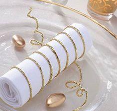 Faites le plein d'idées pour un mariage en or !