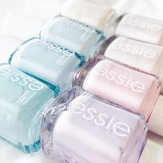 All about pastels! currently loving Go Ginza  Allure (2 coats of each) and I'm about to try Find Me An Oasis  #Pastels #NailPolish #Essie  @liketoknow.it www.liketk.it/1LBMG #liketkit by gabyburger