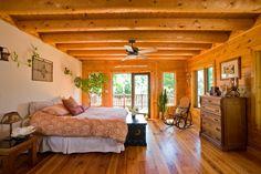 via Katahdin Cedar Log Homes