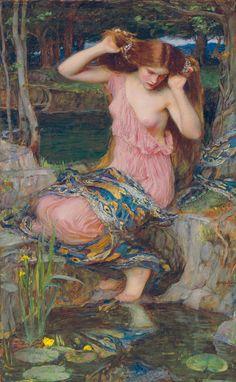 Lamie, 1909, Huile sur toile, Collection particulière, avec l'aimable concours de Christie's