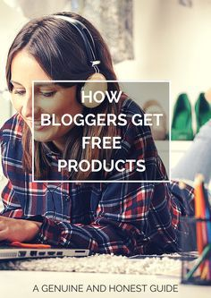 How bloggers get free products. An honest and genuine guide with my 11 top tips. Top Tip: Never call it a freebie! It takes lots of hard work and dedication. #BloggingTips