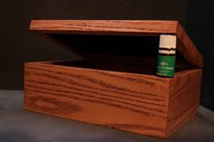 Oak Essential Oil Box by FaustWoodworks on Etsy