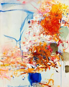 julienfoulatier:    Painting by Joan Mitchell.