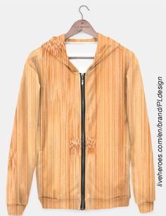 Cool Bamboo wood print Hoodie by #PLdesign #cool #wood #bamboo #liveheroes