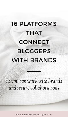 These Influencer Marketing Platforms Connect High Influencer Marketing, Blog Tips, Make Money Blogging, How To Make Money, Money Tips, Wordpress, Instagram Influencer, Marketing Digital, Media Marketing