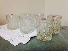 Set of 6 Fostoria Lead Crystal by PurpleIrisVintage on Etsy, $30.00
