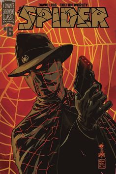 The Spider by Francesco Francavilla
