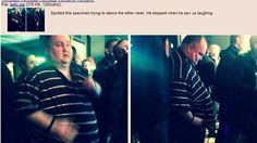 THIS story will warm your heart. Dancing man!