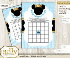 8 Bleu Ahoy Baby Boy Baby Shower Bienvenue Fête Invitations invite /& Enveloppes