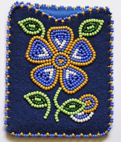 Indian Beadwork, Native Beadwork, Native American Beadwork, Native Beading Patterns, Beadwork Designs, Bead Sewing, Beaded Purses, Beaded Ornaments, Beading Projects