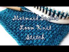 VIDEO: MERMAID SCALE STITCH: Stitchology 22 : Mermaid Scales « Knitting Board Blog