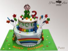 Baby Tv Torta Charlie and the numbers