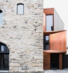 gianluca gelmini renovates medieval torre del borgo in northern italy