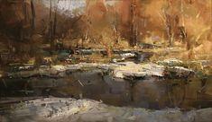 Proveniente de Eslovaquia, Tibor Nagy utiliza gruesas capas de pintura para crear sus pinturas al óleo de paisajes. Nagy utiliza pincel...