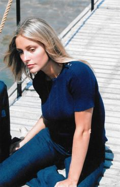 Sharon Tate; Cannes Film Festival, 1968.