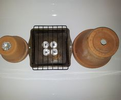Flower Pots & Tea Lights DIY Heater - could be good for camping or if