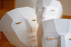 Low-Poly Mask Iterations!   Flickr - Photo Sharing!