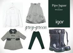 #Look para las princesas de la casa. Pipo Jaguar de IGOR. Botas de Agua. #rainboots #igor #igorshoes #kids #boots #shoes #moda #tendencias