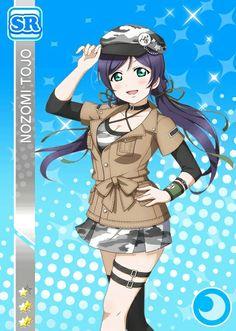 Nozomi SR Friendly Match 2 Manga Art, Manga Anime, Anime Art, Anime Love, All Anime, Anime Girls, Love Live Nozomi, Kawaii, Childhood Friends