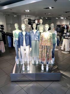 Montmartre Window And Indoor Visual Merchandising Display Fashion