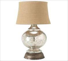 Nice Mercury Glass lamp!