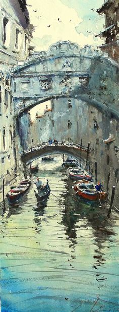 Venice Under the Bridge https://www.amazon.com/Painting-Educational-Learning-Children-Toddlers/dp/B075C1MC5T